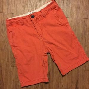 Boys Abercrombie Fitch Short 11 12 Red Summer